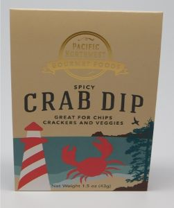 Northwest Spicy Crab Dip